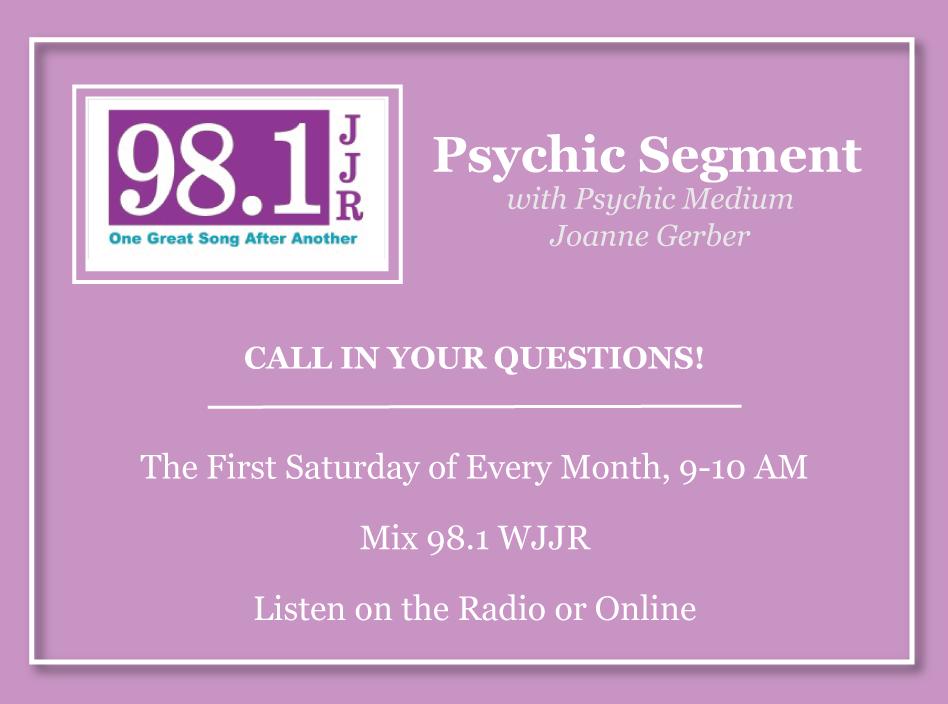 Joanne Gerber — Psychic Medium